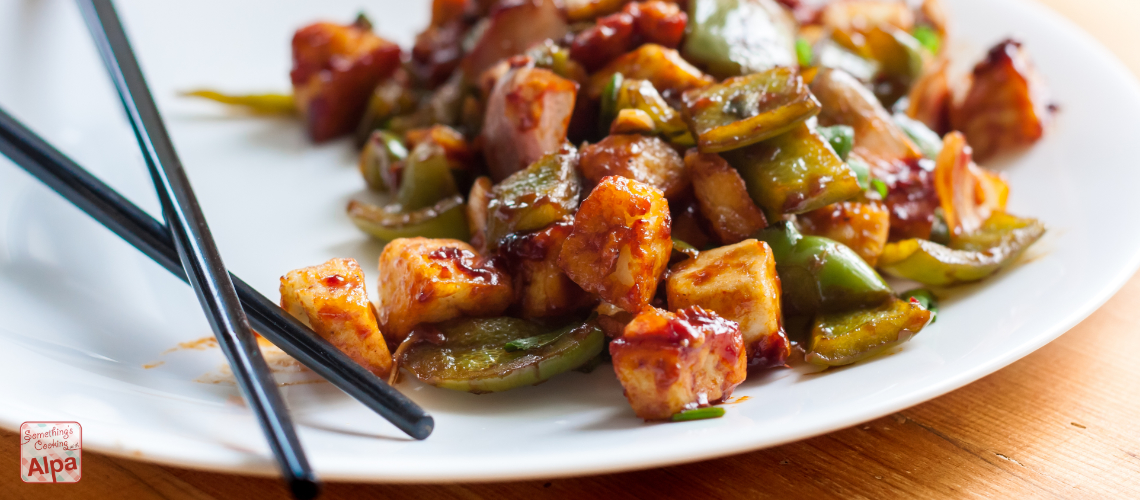Chilli Paneer Recipe - Easy and Quick (restaurant style)