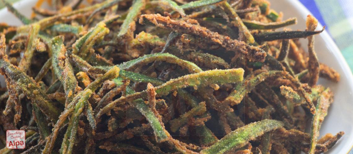 Bhindi Fry-Kurkuri Bhindi Recipe