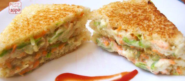 Mayo Cream Cheese Sandwiches