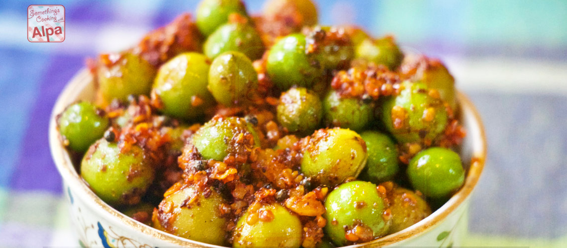 Instant Karonda Pickle, Karvandache Lonche