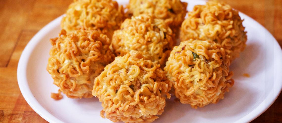 Maggi Pakora 5 Min recipe, Maggi recipe