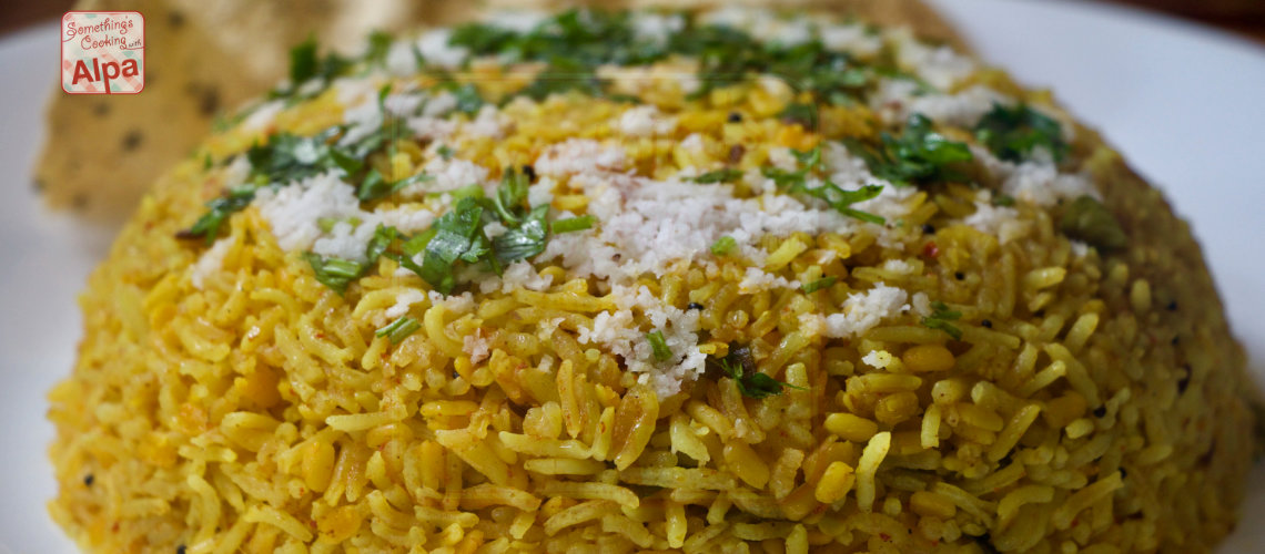 Masala Khichdi, Easy To Cook Indian Rice