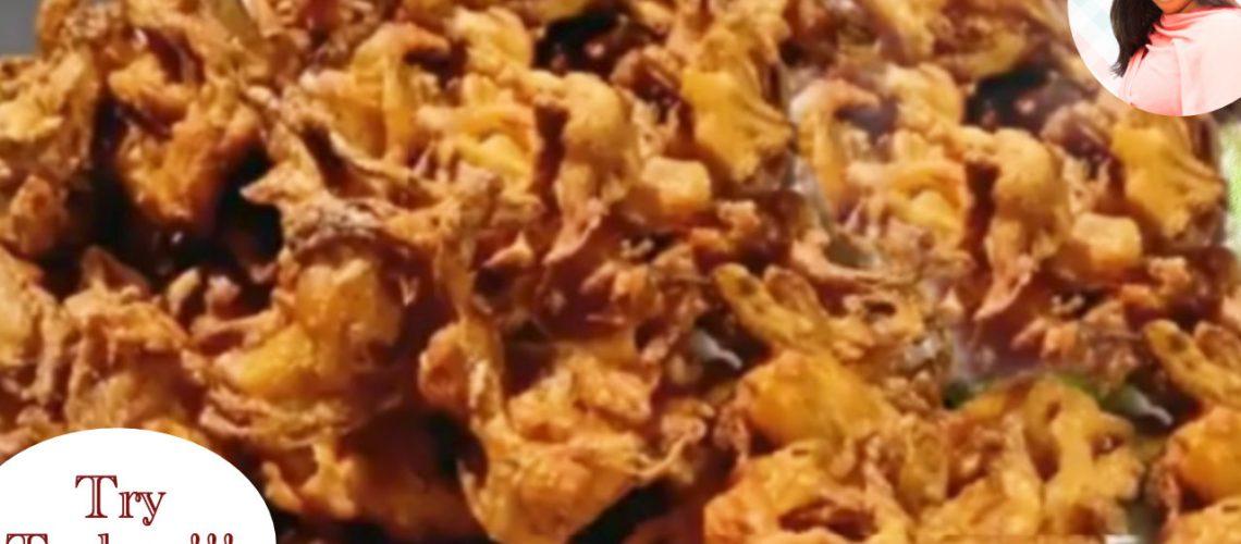 Learn To make Market style Crispy Pyaz ke Pakore