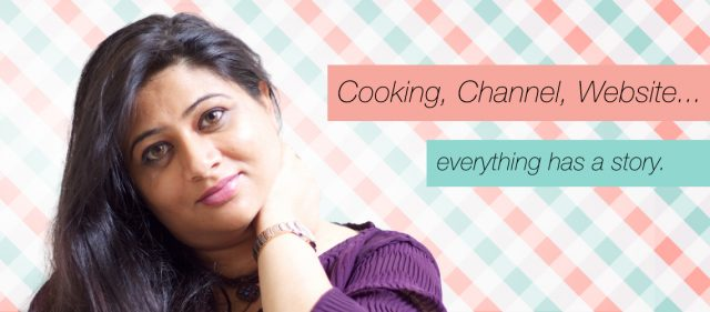 Alpa's Story - Cooking Journey from kitchen to cooking show