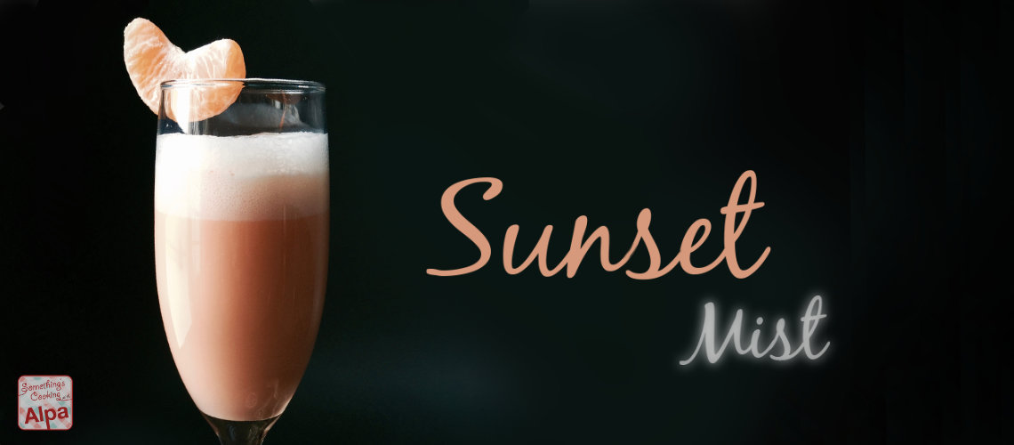 Sunset Mist © – A Magical Party Drink Recipe