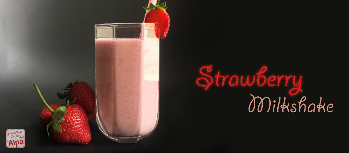 Homemade McDonald's Strawberry Milkshake – CopyCat Recipe ;)