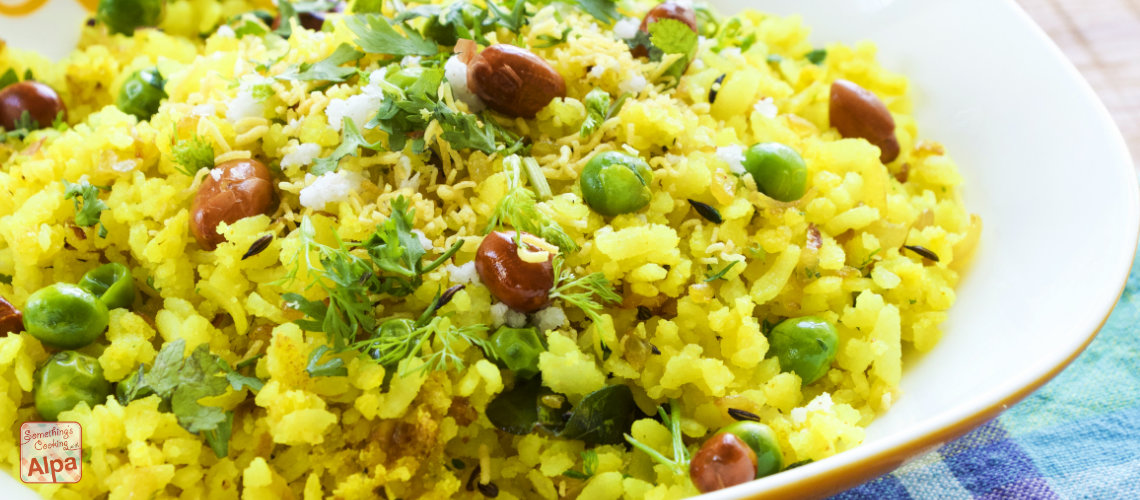 Kanda Poha Recipe - Delicious Maharashtrian Breakfast and