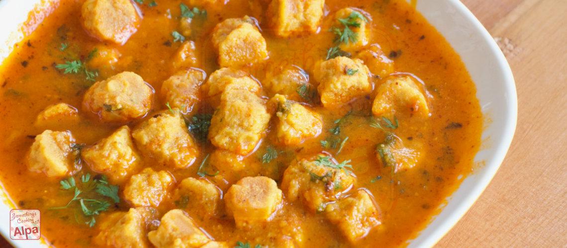 Rajasthani Gatte Ki Sabji Recipe