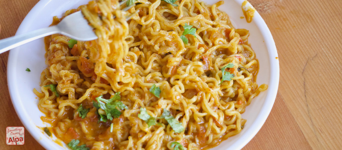 Best Maggi recipe ever ? with extra yummy Mayonnaise & Cheese.