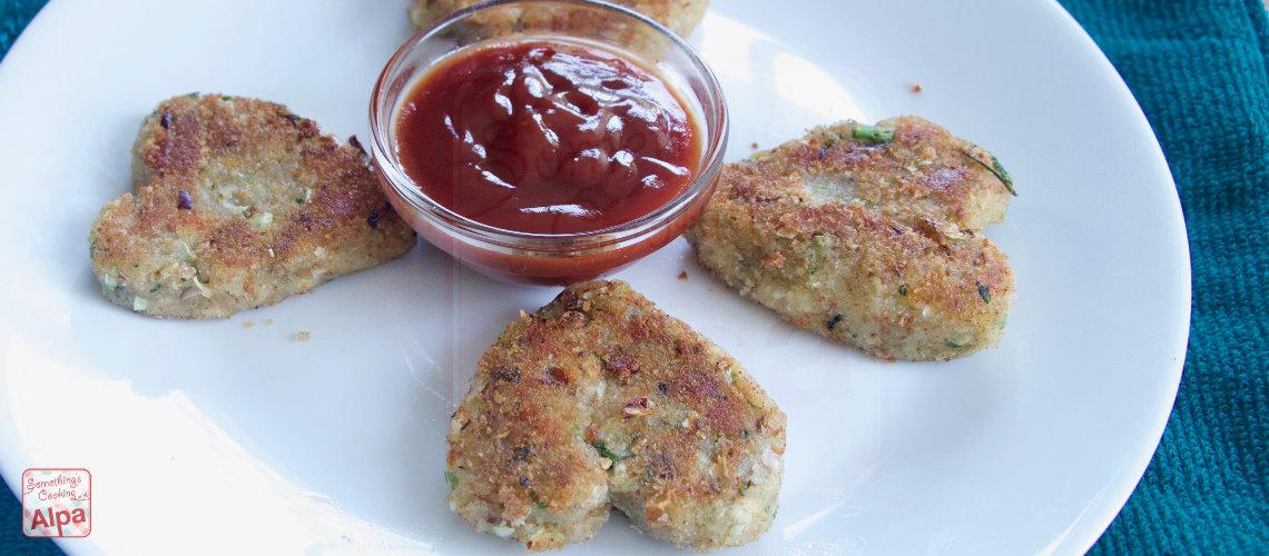 Crispy Paneer Vegetable Cutlet Recipe
