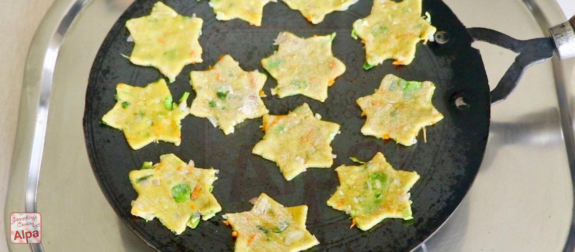 Heathy Soya Star Paratha Recipe for Kids