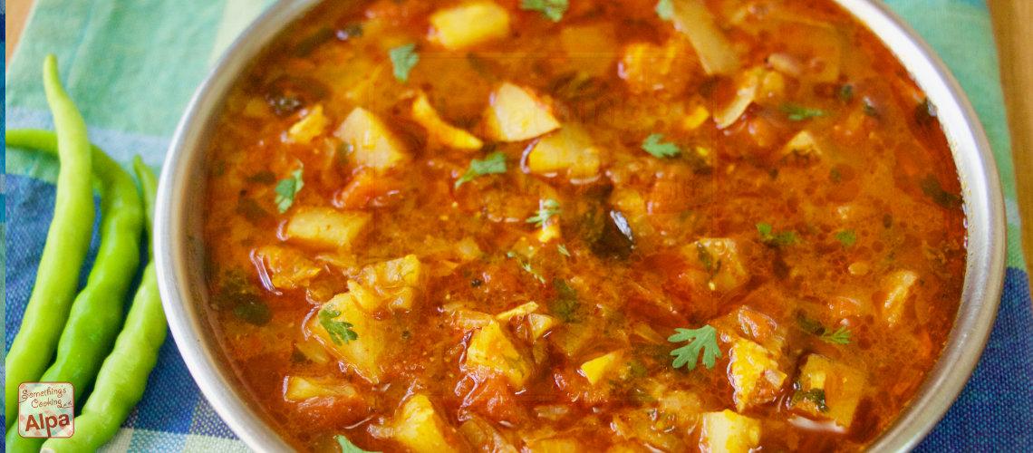 Aloo Pyaz ki Sabji Recipe