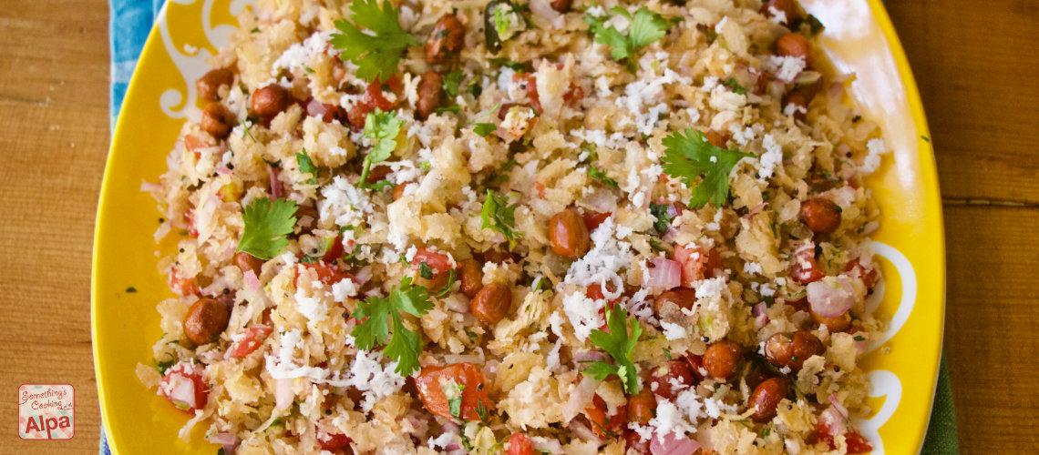 Maharashtrian Dadpe Pohe Recipe