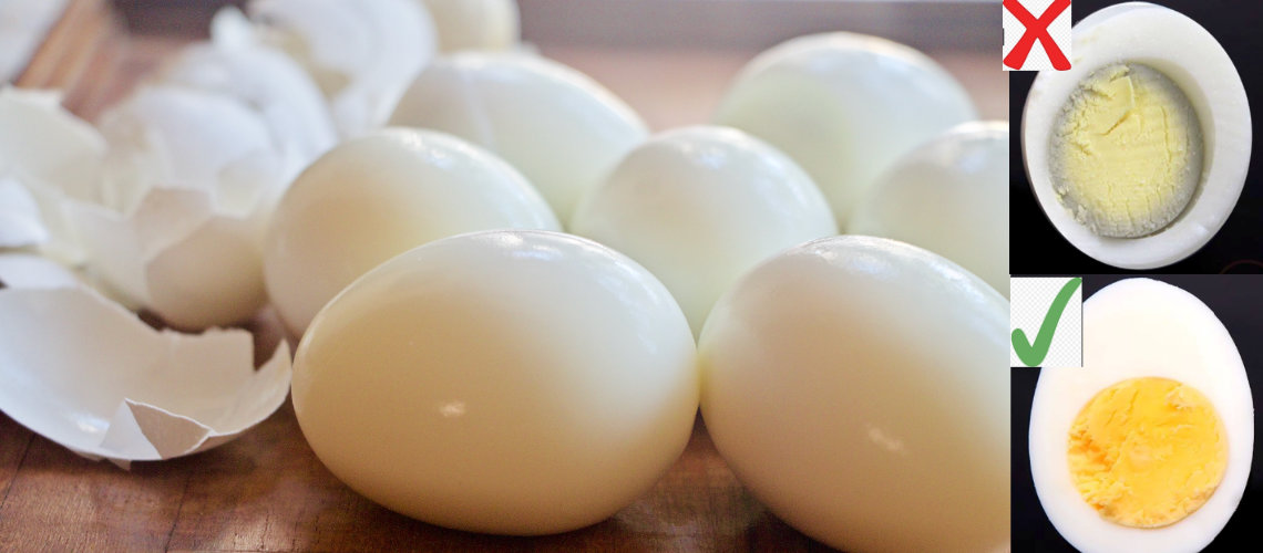 How To Make Perfect Hard Boiled Eggs, Easy Peel