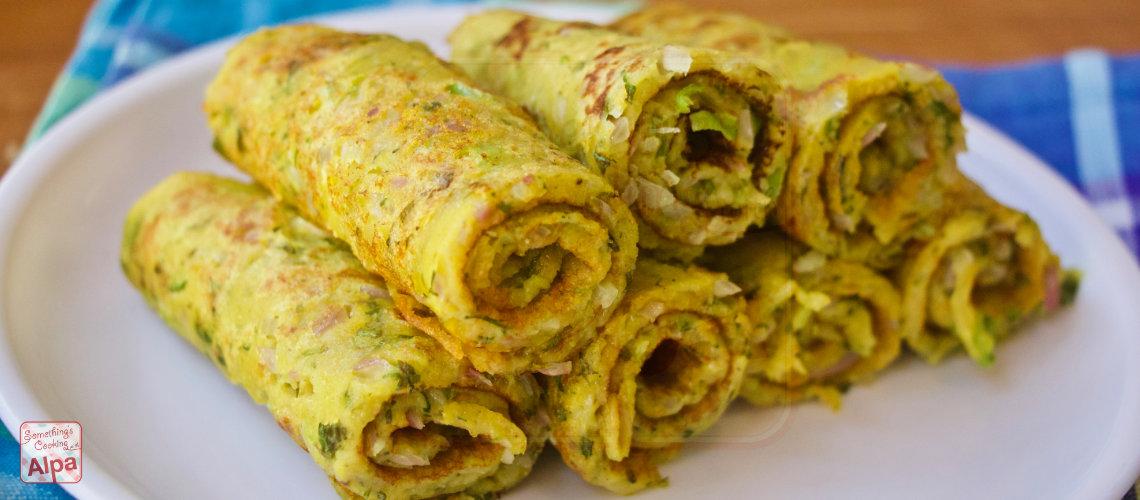 Atta Roll Recipe – Atta Pancake recipe
