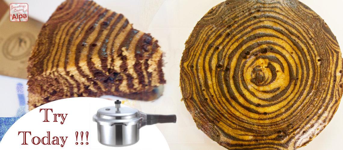 Zebra Cake Recipe – Biscuit Cooker Sponge Cake