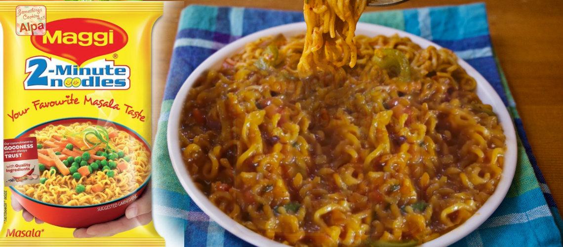 Hot Garlic Maggi recipe, New style of maggi