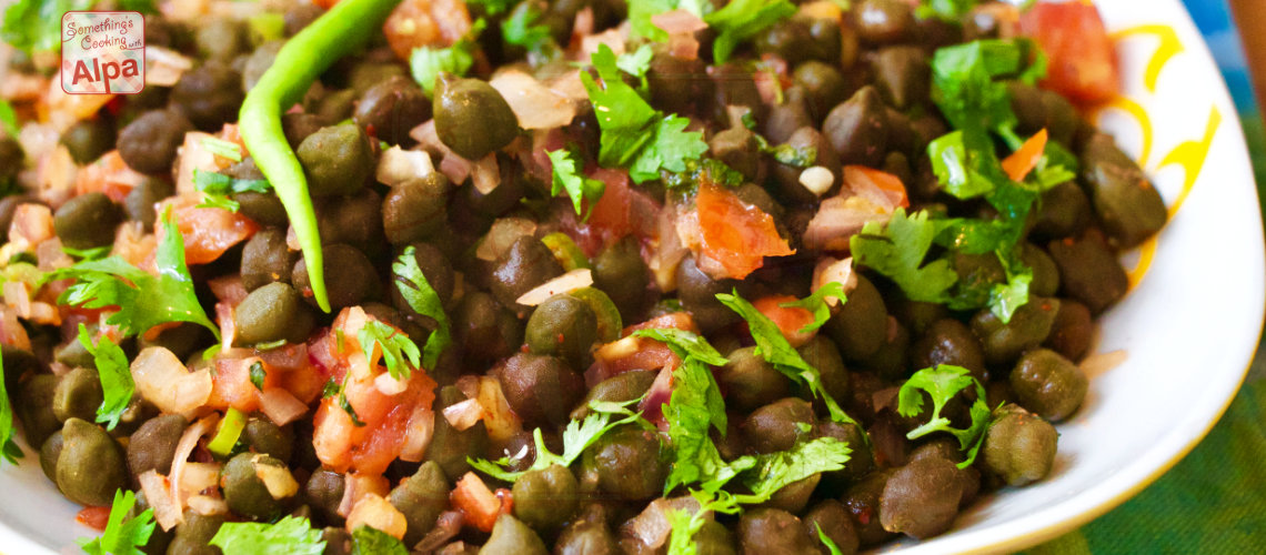 Hare Chane ki chat, Green Chana Masala Salad